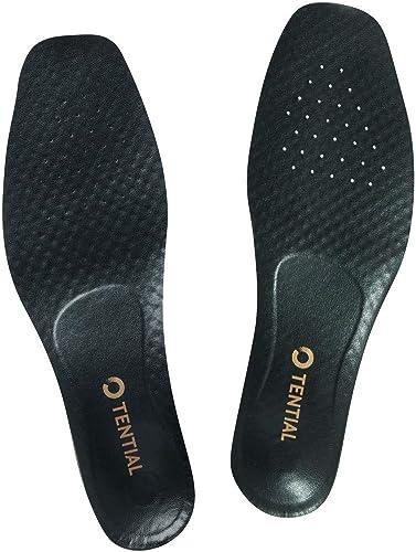 TENTIAL(テンシャル) 革靴用 インソール 中敷き 衝撃吸収 扁平足 外反母趾 土踏まず 足底筋膜炎 消臭 アーチサポート