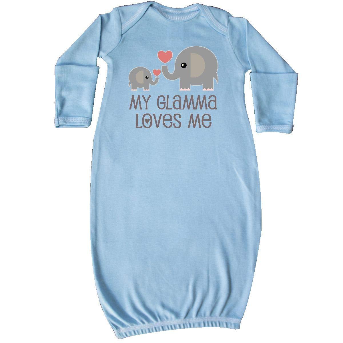 inktastic - My Glamma Loves Me Grandchild Gift Newborn Layette 14-204454-17-140-1418