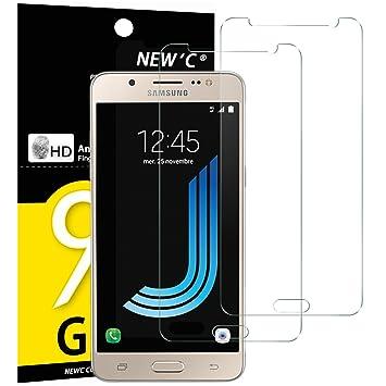 Pack De 2 Verre Trempe Samsung Galaxy J5 2016 NEWCR Film Protection En