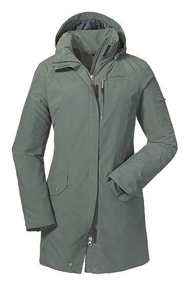 96dbfae2b6a4 Schöffel Damen Jacket Shanghai1 Jacke Unwattiert  Amazon.de  Sport ...