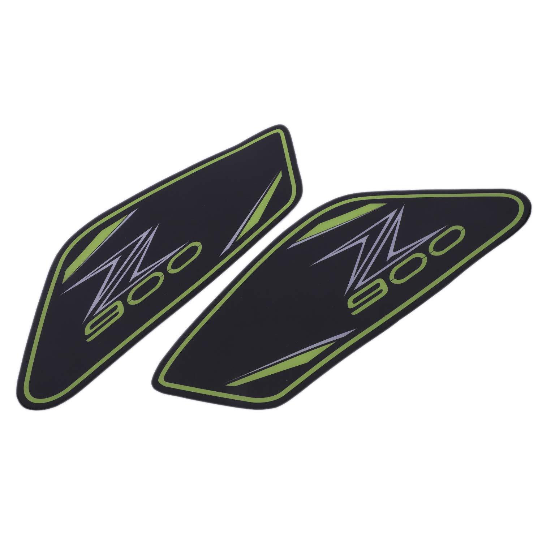 Verde TOOGOO per Kawasaki Z 900 2017 Moto Protector Antiscivolo Serbatoio Pad Adesivo Gas Grip Grip Trazione Side Decal Z900 Accessori Moto
