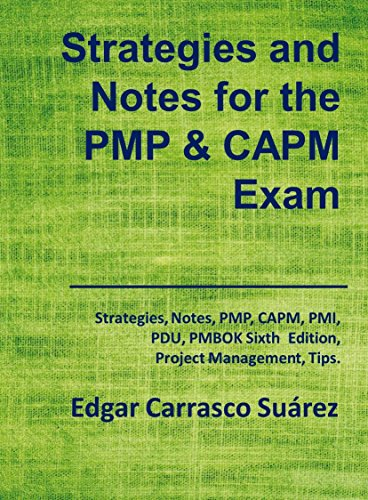 Amazon com: Strategies and Notes for the PMP and CAPM Exam