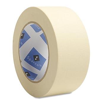 Amazon.com: Sparco Economy Masking Tape, 3-Inch Core, 2 x 60 Yards ...