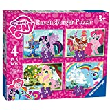 My Little Pony 12 16 20 24 Piece 4 Jigsaw Puzzle Game