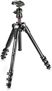 Manfrotto Befree Lightweight Be Free Aluminium Travel Tripod with Ball Head, Black, Black (MKBFRA4-BH)