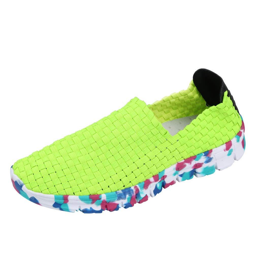 ZODOF Zapatos De Mujer Zapatos Piso De Boca Superficial Antideslizante Transpirable Zapato De Sport De Ocio Perezoso Oxford Zapatos De Boca Baja Alpargatas ...