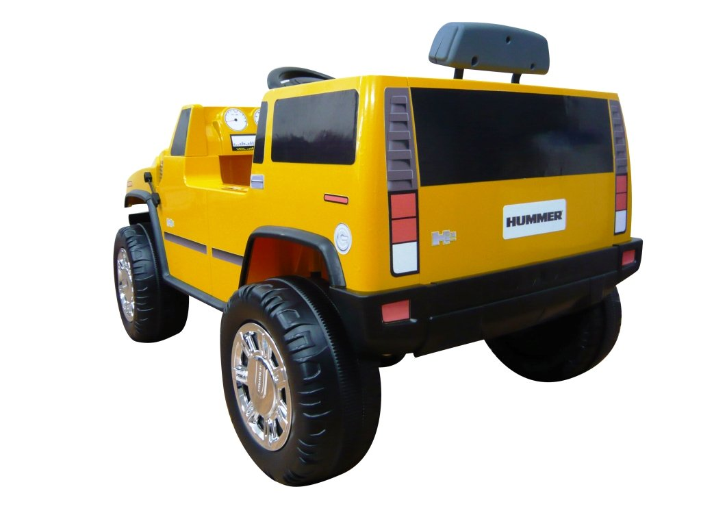 Amazon.com: National Products 6V Yellow Hummer H2 Battery Operated