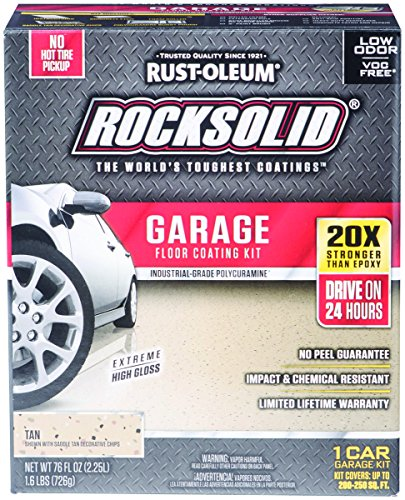 Rust-Oleum 60007 Rocksolid Garage Coat, (Tan Epoxy Garage Floor Coating)