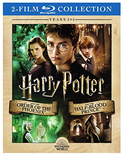 Harry Potter Double Feature: Harry Potter and the Order of the Phoenix / Harry Potter and the Half-Blood Prince [Blu-ray]