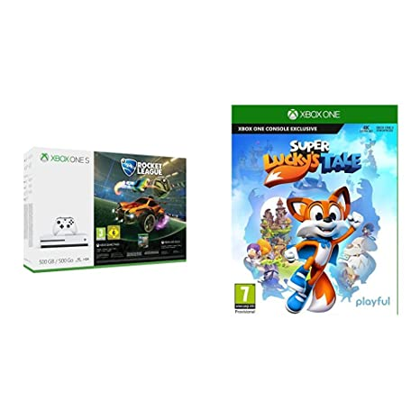 Xbox One S - Consola 500 GB + Rocket League + Super Luckys Tale ...