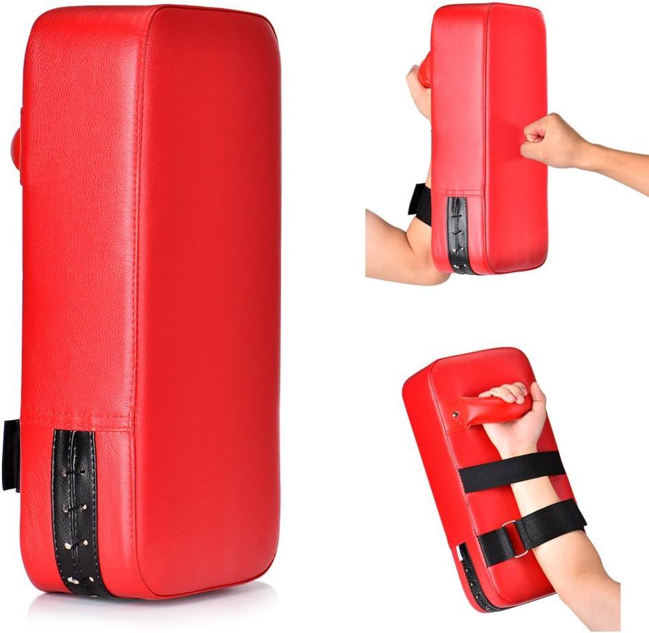 Queta PU Punch Pad de Cuero Almohadillas de Impacto Garra de Mano Impacto Golpe Kick Shield Bolsa de perforación para Kickboxing Karate de tafibra MFC