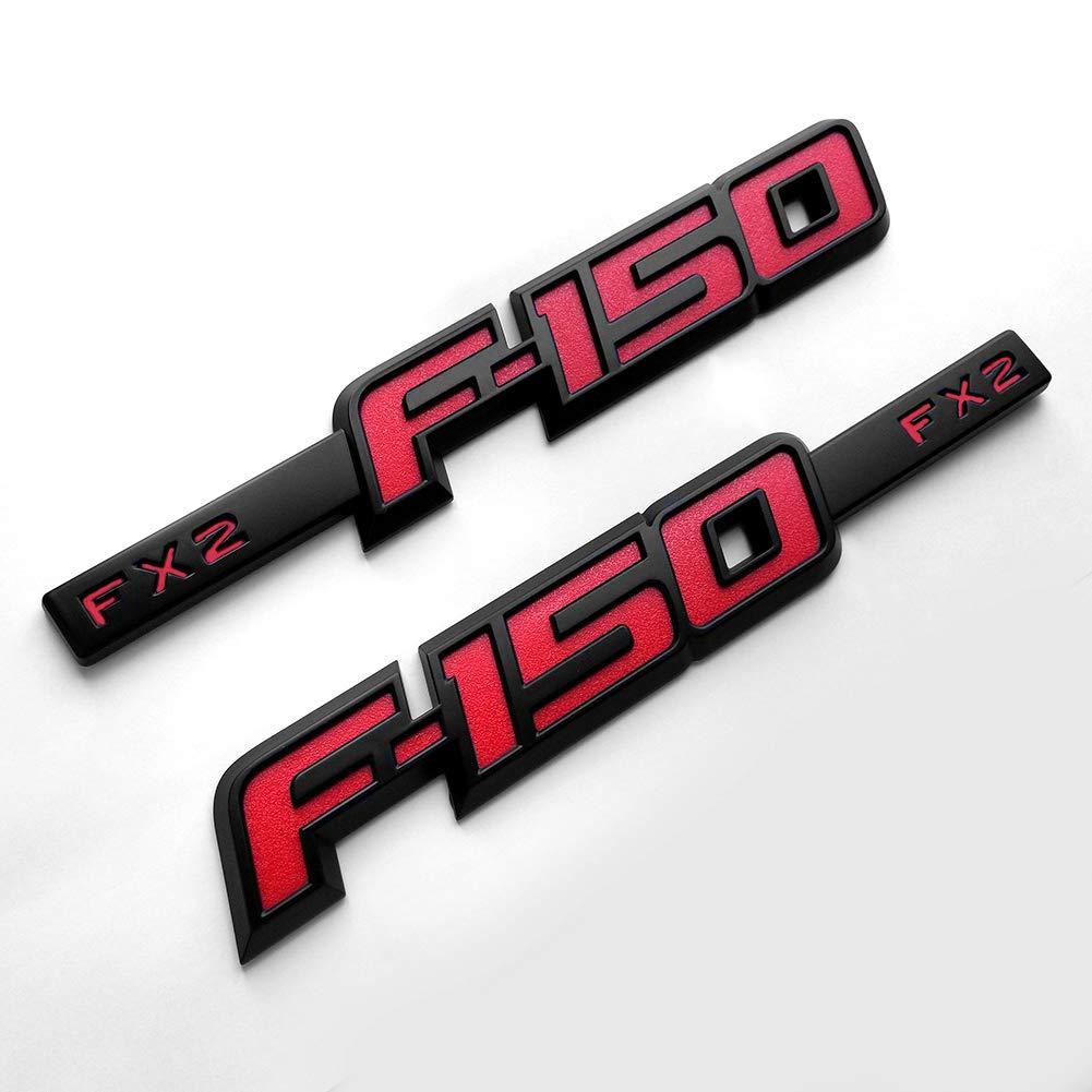 2x OEM F-150 Fx2 Side Fender Emblem Badge 3D Ford F150 F Chrome CL3Z-16720-A