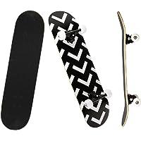 YUDOXN Completo Skateboard para Principiantes, 80x20(cm) monopatín Skate Madera de Arce para Adolescentes, niños, niñas…