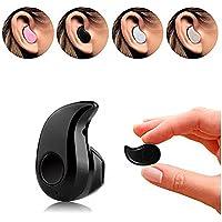 Redlemon Manos Libres Bluetooth Mini, Audífono Bluetooth con Micrófono para Llamadas. Negro (UNA Pieza)