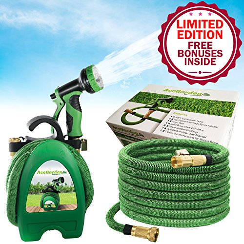 The Best 50ft Expandable Garden Hose & Nozzle That You Can Trust! Light Like A Pineapple, Our Flexible Water Hose Is Made From Premium Materials To Prevent Leaks & Kinks! You'll Love Our FREE BONUSES!