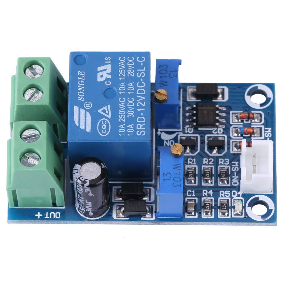 12v Battery Charging Controller Protection Board Module 48v Solar Charger Circuit With High Low Cutoff Undervoltage Voltage Cut Off Automatic Switch Recovery