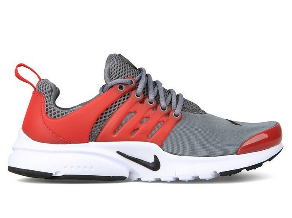 Nike Air Presto Youth  Traing Shoes B01G2K2L30 US 5 = UK = 4.5 = EURO 37.5 = BR 35.5|Cool Grey University Red Black White 002