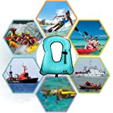 WACOOL Inflatable Snorkel Vest Safety Jacket Free