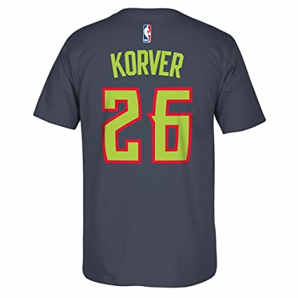 uk availability dcc18 f553b Amazon.com : Kyle Korver Atlanta Hawks NBA Adidas Grey ...