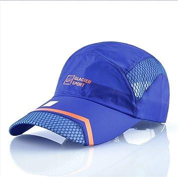 NONGNIML Gorra de béisbol de Verano Hombre Mujer Malla Transpirable de  Secado rápido Sombreros Sombrero de 23b1c4d5a37