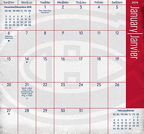 Montreal Canadiens 2019 2020 Pocket Planner Amazon Fr Trends International Livres Anglais Et Etrangers