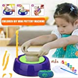 MKE Pottery Wheel Game with Colors and Stencils Creative Educational Game Toy for Kids
