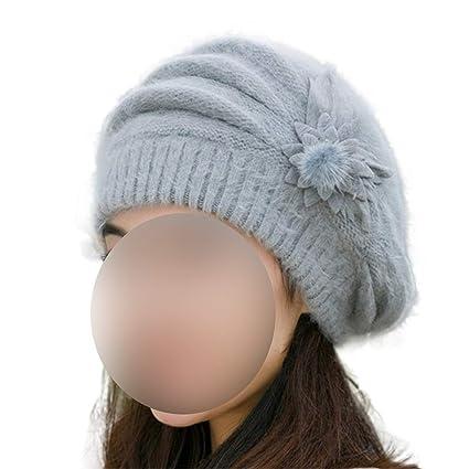 Amazon.com: Winter Hats Women Beret Cap Gorras Planas Hombre Hats Beret Solid Color,Purple: Clothing