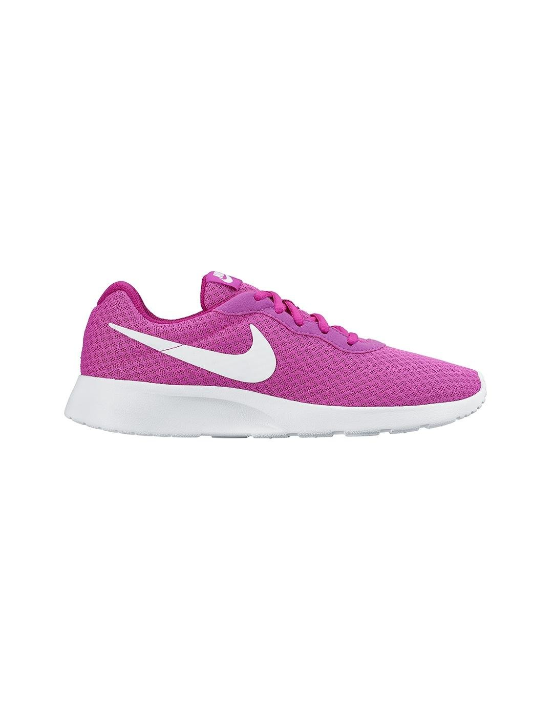 Nike Tanjun - Zapatillas para Mujer, Color Negro/Blanco 38.5 EU|Morado