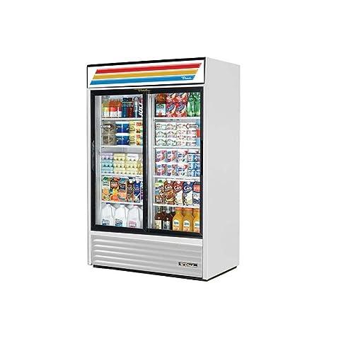 Amazon True Mfg Gdm 45 2 Door Glass Slide Door Refrigerator