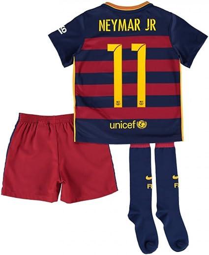 Nike FC Barcelona FCB Niño Camisa 2015/2016, Color Rojo ...