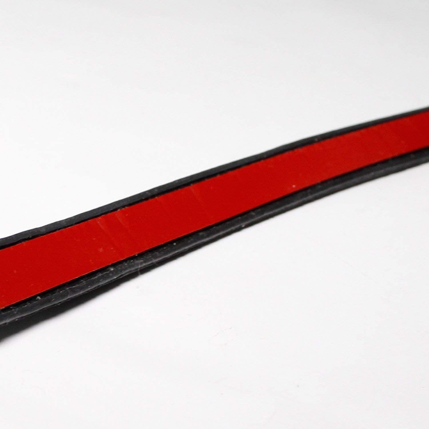 Sealing Rubber Strip Trim New Style Auto L Shape Adhesive Anti-dust Noise Control Protective Door Edge Seal Black 10ft