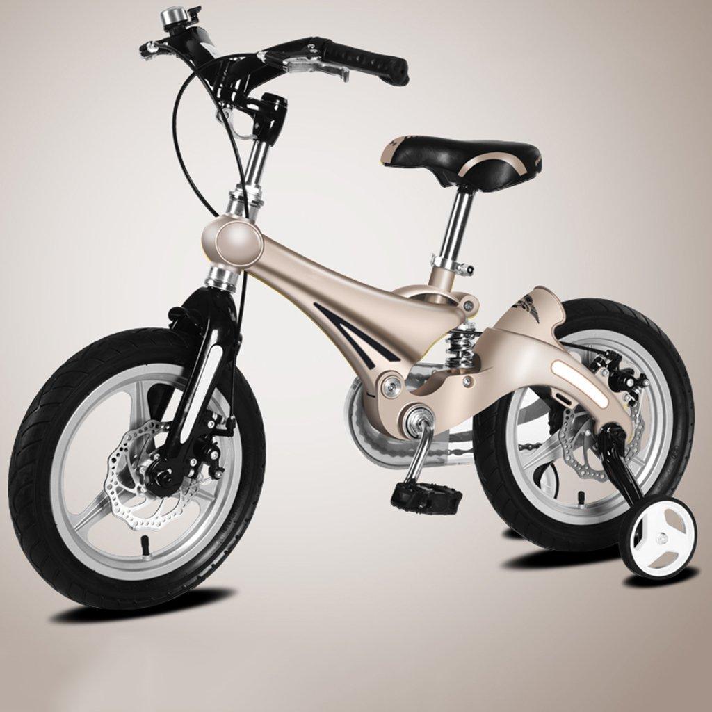 子供用自転車、A&Dan マグネシウム合金子供用自転車子供用三輪車2-8歳の子供に適しています B07CR1GC9C 16〃|Gray Gray 16〃