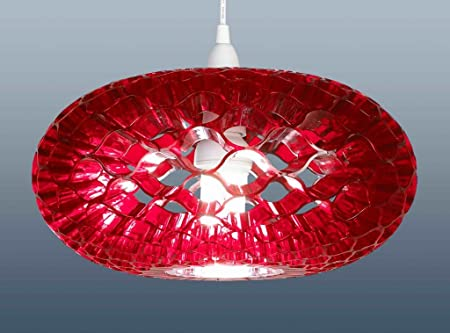 The lampshade warehouse lighting outlet funky retro style loren the lampshade warehouse lighting outlet funky retro style quotlorenquot honeycomb pendant lampshades mozeypictures Images