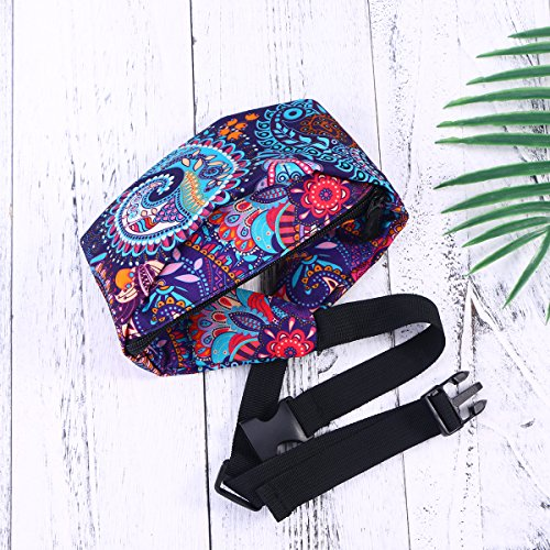 Zipper Printing Fanny Bag Waist 5 Bag 3D Travelling Bag Women's Packs Bum Bag qSCwExCf