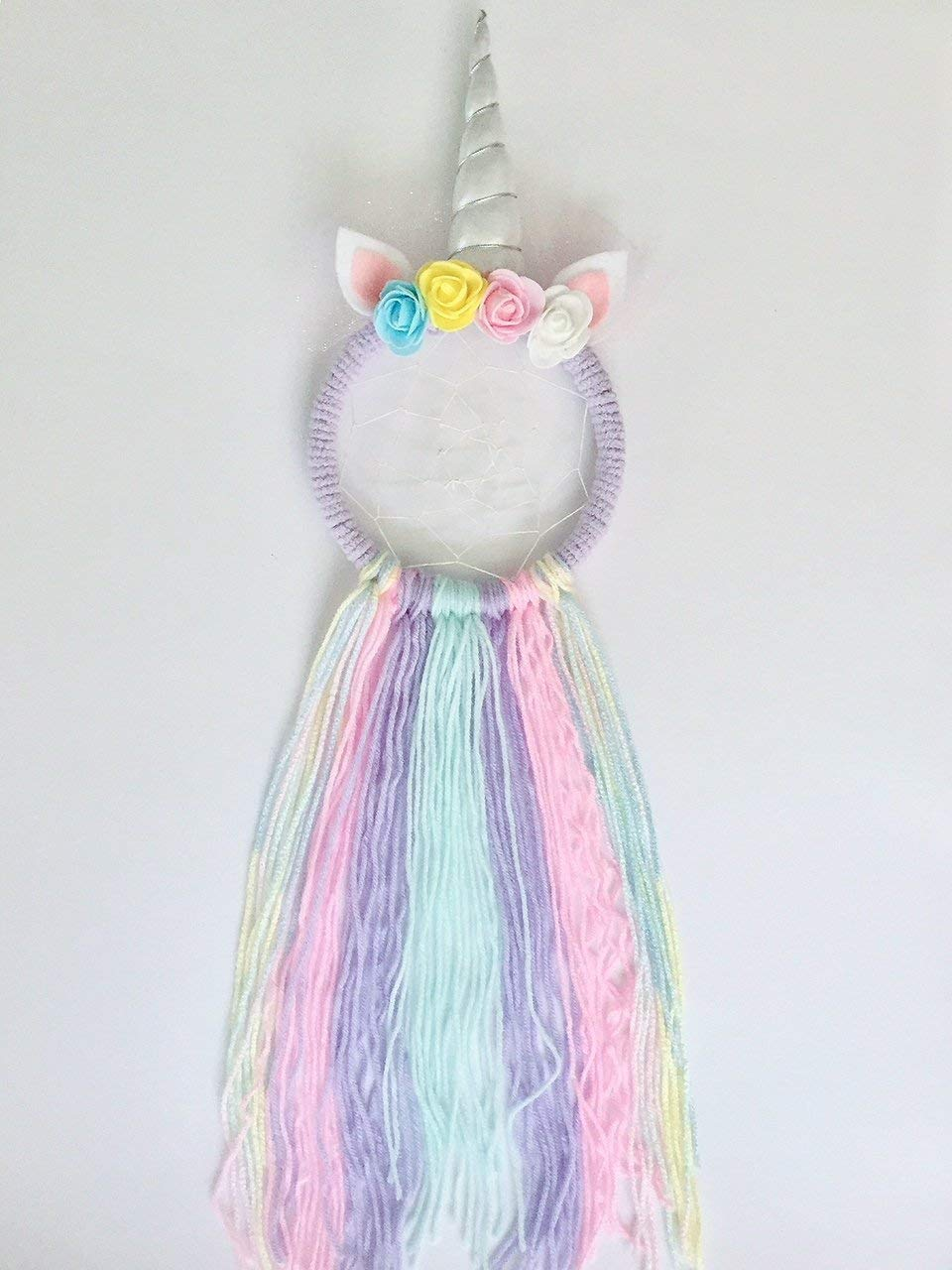 Full Size Make Your Own Unicorn Dream Catcher Kit Kids Craft Gifts for girls 4