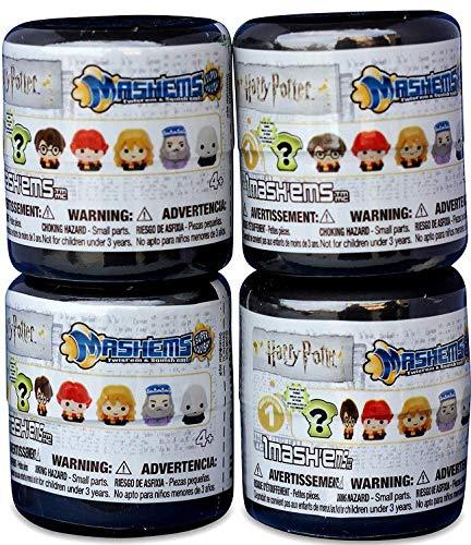 Harry Potter Mmashems Mystery Capsules Bundle of 4