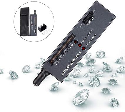 Tester professionale del diamante dei gioielli del LED rivelatore portatile del selettore della pietra preziosa del diamante dei gioielli di alta precisione