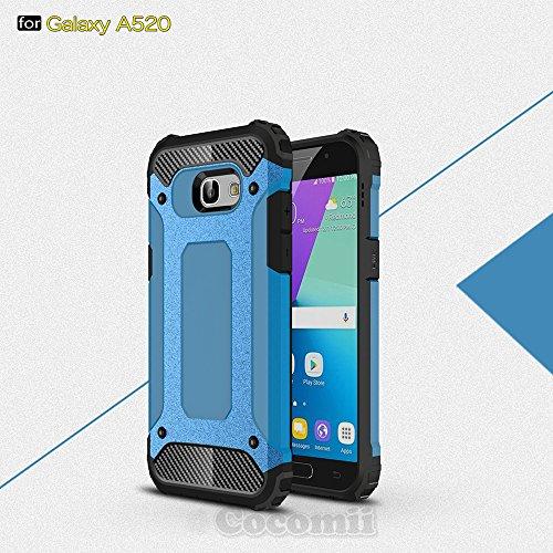 Slim Shockproof Case for Samsung Galaxy A5 (Blue) - 3