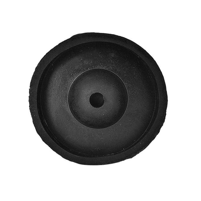 3in Nannday Almohadillas para Muebles Accesorio de procesamiento de la Placa Base de Goma para fundici/ón de Cera Base de Goma de Caucho