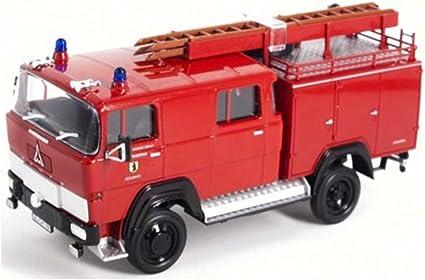 Magirus Deutz 100 D7 Fa Lf8-ts Red 1:43 Model LUCKY DIE CAST