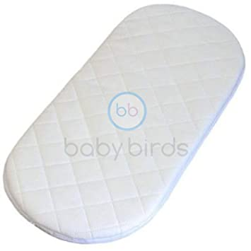 best service d4bcd 6b3aa Baby Birds Replacement Safety Mattress to fit the Venicci Pram Carrycot 75  * 33 Round