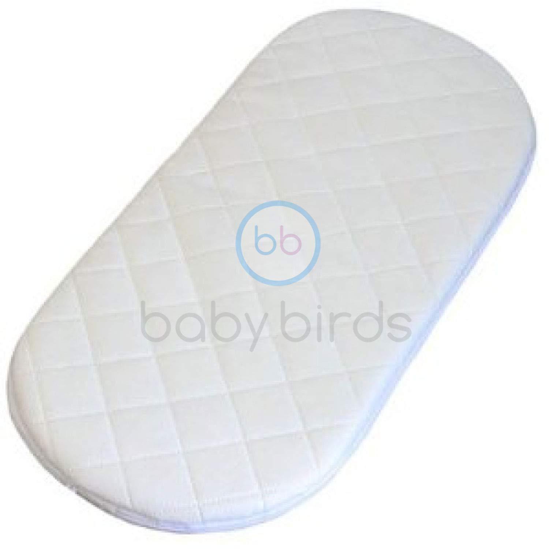 Baby Birds Replacement Safety Mattress to fit The Silver Cross Wayfarer & Pioneer Pram