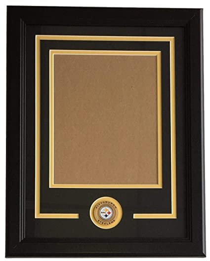 a6ae5ac3b5a Image Unavailable. Image not available for. Color  Pittsburgh Steelers 8x10  Vertical Photo Frame Kit