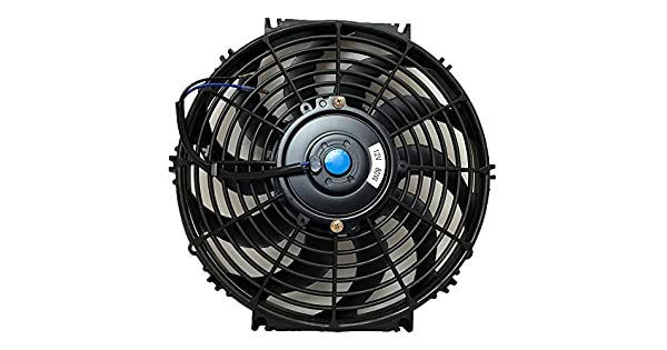 "UNIVERSAL 12/"" 30.5CM COOLING RADIATOR ELECTRIC FAN"