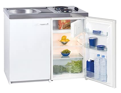 Mini Küche exquisit kk1000z mini küche weiß amazon de elektro großgeräte