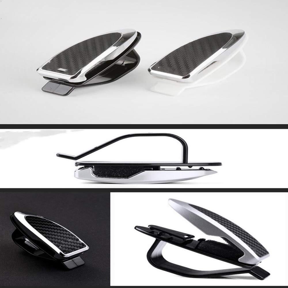 WBXHZYDGJ Automatic Fasteners Auto Parts Cars Sun Visor Sunglasses Glasses Clips Black 1 Piece
