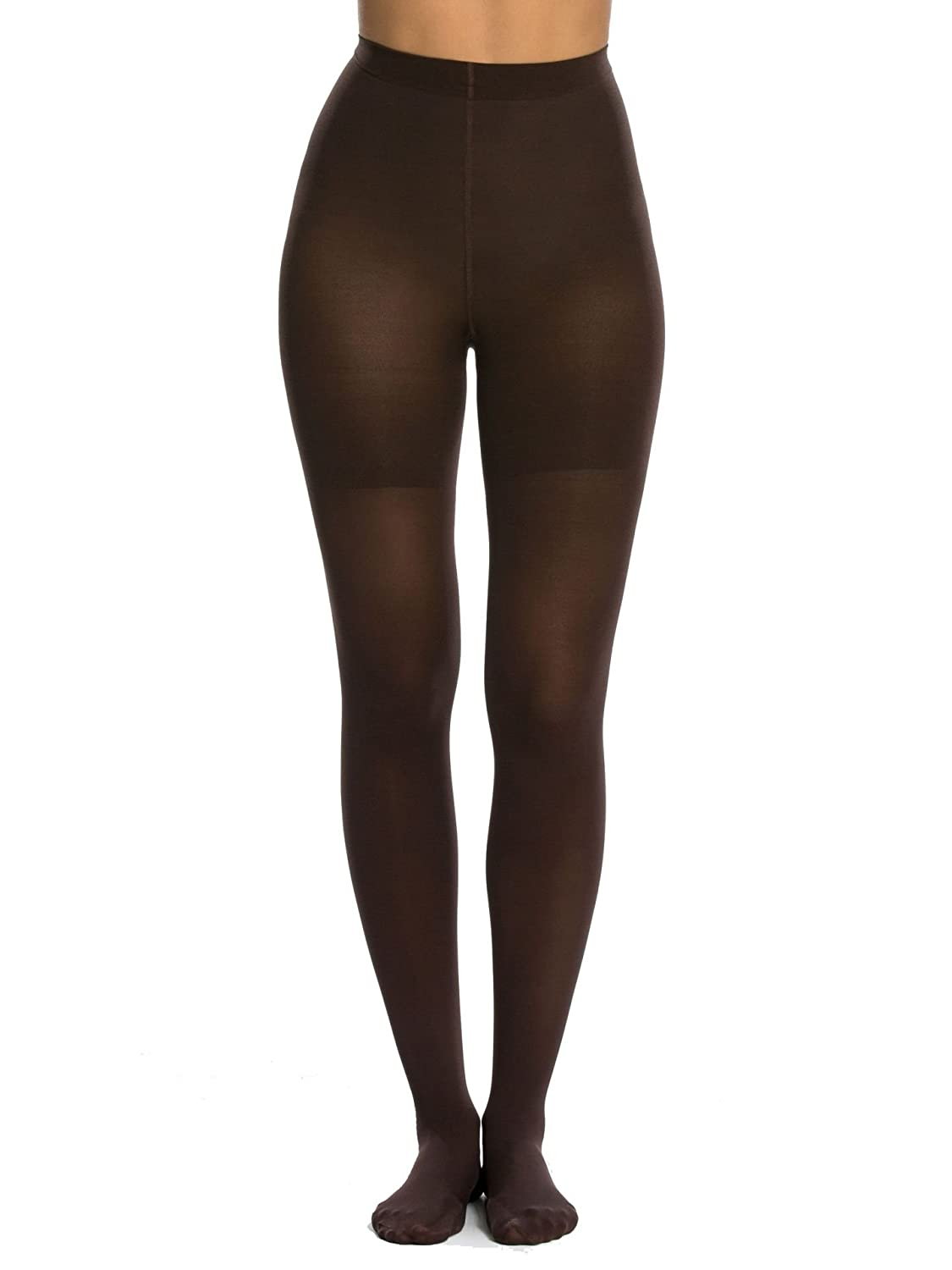 Shimmery nude tights spanx