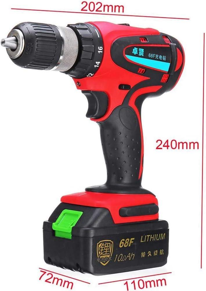 Amazon.com: 68 V destornillador eléctrico máximo taladro ...