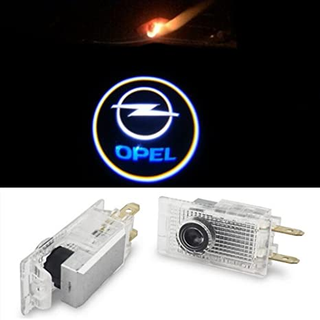 EOVVIO 2 piezas LED logotipo Proyector de Puerta de Coche proyector Bienvenido Lámparas