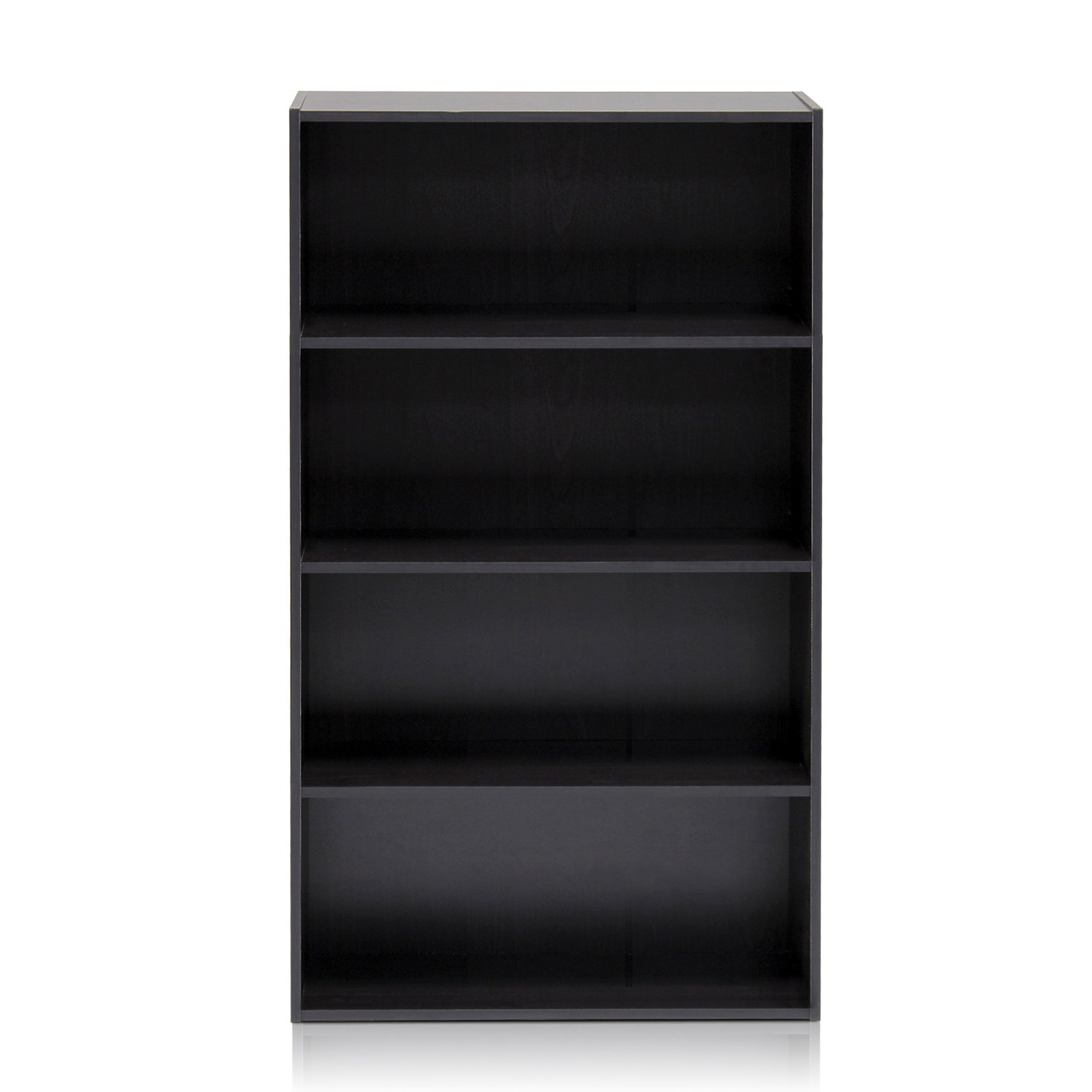 furinno 11209ex pasir 4 tier open shelf espresso - Small Bookshelves For Sale